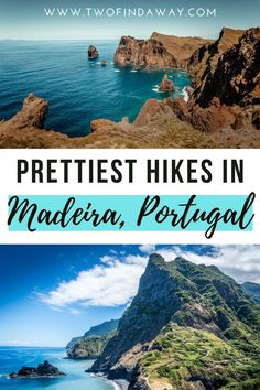 Madeira is filled with stunning hikes and walks for all types of travelers. Check our complete guide to the best hikes and walks in this Portuguese island! Madeira island is a dream destination… More Portugal Travel, Spain And Portugal, Spain Travel, Europe Travel Guide, Travel Guides, Travel Themes, Travel Aesthetic, European Travel, The Great Outdoors