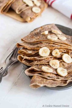 A simple and delicious hazelnut crepes recipe. Perfect for a simple breakfast or brunch