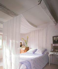 ciel de lit pour lit-cabane?