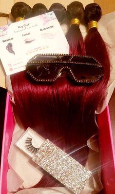Ombre Burgundy, Facebook Store, Sunglasses Shop, Black Rhinestone, Hair Type, Lashes, Etsy Shop, Eyelashes, Eye Brows