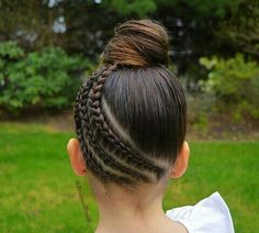 gorgeous hairstyle make you look beautiful and be condifence - Flechtfrisuren Girls Hairdos, Baby Girl Hairstyles, Braided Hairstyles, Cool Hairstyles, Teenage Hairstyles, Braided Ponytail, Updo Hairstyle, Everyday Hairstyles, Wedding Hairstyles
