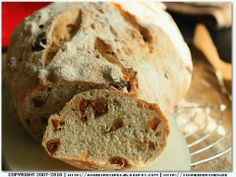Angie's Recipes - Cracked Black Pepper Fig Spelt Loaf