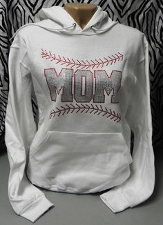 baseball mom sweatshirt