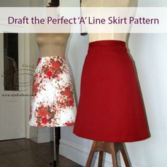 22 fabulous pages of content including sketches, diagrams, photos and garment making instructions to help you have the most fun making your pattern. Pdf Sewing Patterns, Vintage Patterns, Drape Skirt Pattern, Make Your Own Clothes, Draped Skirt, Pattern Blocks, Pattern Making, A Line Skirts, High Waisted Skirt