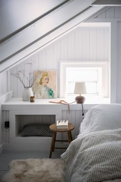 cozy bedroom corner