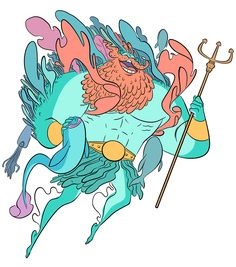 Lovely Poseidon on Behance