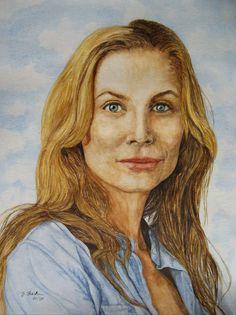 Juliet gespielt von Elizabeth Mitchell in der Serie Lost - Jutta Bachmann