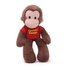 GUND Curious George Take Along Stuffed Animal //Price: $13.39 & FREE Shipping //