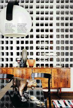 Mid Century Modern living room from my favorite design Magazine AD Spain