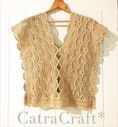 Fabulous Crochet a Little Black Crochet Dress Ideas. Georgeous Crochet a Little Black Crochet Dress Ideas. Crochet Tunic Pattern, Gilet Crochet, Crochet Shirt, Crochet Jacket, Crochet Cardigan, Crochet Vests, Crochet Tops, Black Crochet Dress, Jacket Pattern