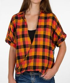 Gimmicks by BKE Pieced Plaid Shirt