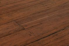 Bamboo - Click Lock Barn Plank Strand Woven Collection - Distressed Harrisburg Brown