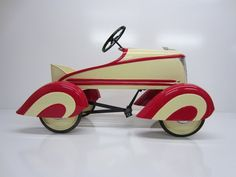 1937-1942 Steelcraft Sports Roadster #510...Restored Pedal Car...Rare And Nice