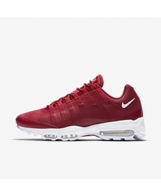 Shop now for great discounts on Nike Air Max 95 Ultra Essential Gym  Red White Mens Shoes. d2f75c449