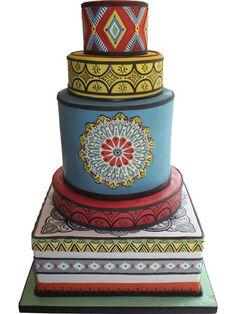 Moroccan Themed Wedding - CakesDecor