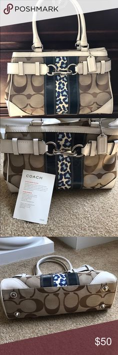 Authentic Coach Handbag Beautiful and rarely used Handbag in excellent condition. Coach Bags Totes