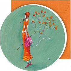 "Gaëlle Boissonnard greeting card (12.5 cm)  ""La branche"""