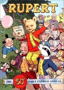Rupert Bear Annual 1986 - 50th Edition