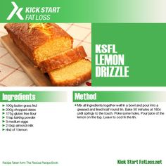 LEMON DRIZZLE Real Food Recipes, Cooking Recipes, Healthy Recipes, Healthy Foods, Good Food, Yummy Food, Tasty, Clean Eating Recipes, Healthy Eating