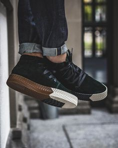 los angeles 64c10 be59a Alexander Wang x adidas Originals Skate Mid Types Of Shoes Men, Hype Shoes,  Trendy