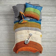 To the Center of the Bedding  | The Land of Nod