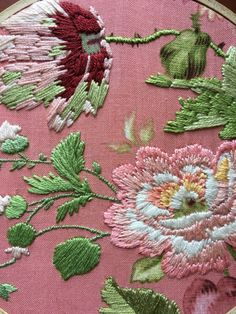 Floral Hand Embroidery on by TheCaptainAndAnoukCo