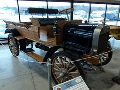 1914 Brockway Motor Truck, Central NY Living History Museum, Cortland NY. Photo by JD George