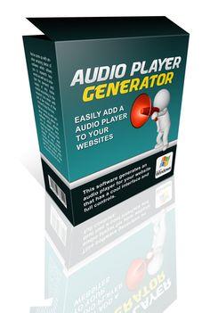 Audio Player Generator