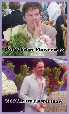 Turns Out Benedict Cumberbatch Really Loves Flowers