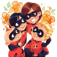 It's no stretch to sa The Incredibles Helen, Disney Incredibles, Disney And Dreamworks, Disney Pixar, Walt Disney, Disney Characters, Up Pixar, Pixar Movies, Violette Parr