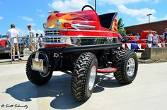 Bumper car via Scott597 on Flickr #bumpercar #monstertruck