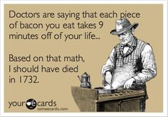 I'm not like, obsessed with bacon or anything like that, but I thought this was funny!