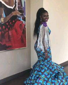african print dresses African Print fashion dresses for women African Prom Dresses, Latest African Fashion Dresses, African Dresses For Women, African Print Fashion, Africa Fashion, African Attire, Ankara Fashion, African Women Fashion, African Dress Styles