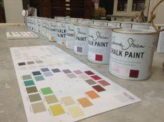 Carta de colores Chalk Paint™