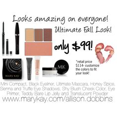 """Mary Kay Fall Look"" by allisondobbins on Polyvore"