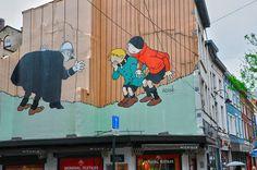 Cómics, Bruselas © 123RF http://www.anayatouring.com/blog/2015/02/27/10-motivos-para-visitar-bruselas/