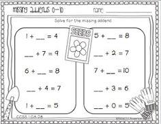 1000 images about 1 oa 8 missing addend on pinterest worksheets first grade worksheets and math. Black Bedroom Furniture Sets. Home Design Ideas