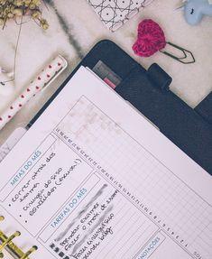 Meu Planner em Janeiro Planner, Bullet Journal, Blog, January, Organizers, Day Planners, Blogging