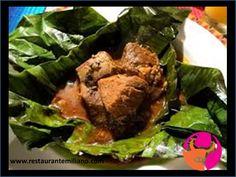 RESTAURANTE EMILIANO. El mixiote es un platillo típico de México, que está elaborado a base de carne enchilada cocida al vapor, envuelta en una película que se desprende de la penca del maguey pulquero. La carne que se usa puede ser carnero, pollo, conejo, cerdo, res o pescado y se cocina con diferente tipos de salsa, normalmente mezclada con chiles y hierbas de olor. En Restaurante Emiliano le invitamos a probar nuestros deliciosos Mixiotes. #restauranteenpuebla