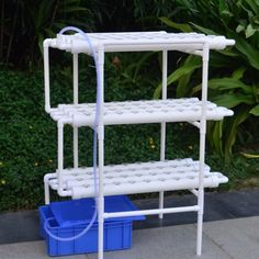 DIY Hydroponics NFT Tower Rack Kit on Carousell