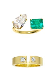 These engagement ring and wedding band pairings are nothing short of spectacular and guaranteed to be a look no one else will have!