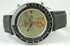Vintage Seiko Automatic Day Dater Chronograph 6139 6040 Watch Made in Japan   eBay