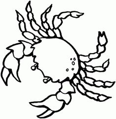 Red Crab Coloring Pages Free from Animal Coloring Pages category. Printable coloring images for kids that you can print out and color. Check out our selection and print the coloring images free of charge. Ocean Coloring Pages, Fish Coloring Page, Animal Coloring Pages, Coloring Pages To Print, Free Printable Coloring Pages, Coloring Book Pages, Coloring Pages For Kids, Coloring Sheets, Sea Creatures Drawing