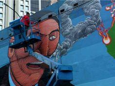 O debate também conta com a participação dos diretores do filme e do grafiteiro Nunca. A entrada é Catraca Livre.