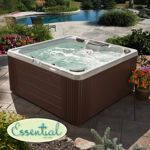Not all hot tubs and spas are created equal. Water's Edge Hot Tubs are proudly manufactured in the United States, ensuring you get the highest quality spa available. Portable Spa, House 2, Backyard Patio, Discovery, Aqua, Coral, Deck, Lights, Hot