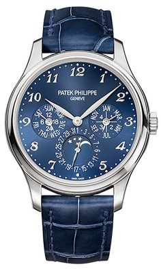 Discover a large selection of Patek Philippe Perpetual Calendar watches on - the worldwide marketplace for luxury watches. Compare all Patek Philippe Perpetual Calendar watches ✓ Buy safely & securely ✓ Stylish Watches, Luxury Watches, Cool Watches, Watches For Men, Men's Watches, Fine Watches, Patek Philippe Aquanaut, High End Watches, Silver Pocket Watch
