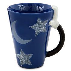 mickey mouse glitter mug