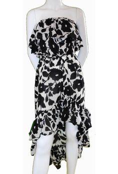 Tolani Morgan Ruffle Tube Dress
