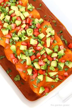 Easy Vegan Bean Enchiladas