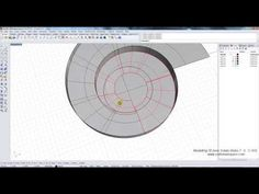 (62) Modelling 3D Ionic Volute in Rhino 3D CAD software - YouTube